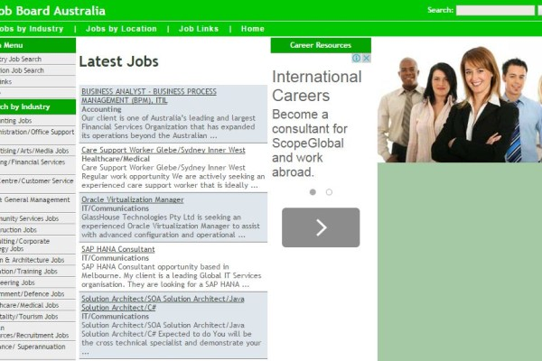 Jobboard.com.au Career Site