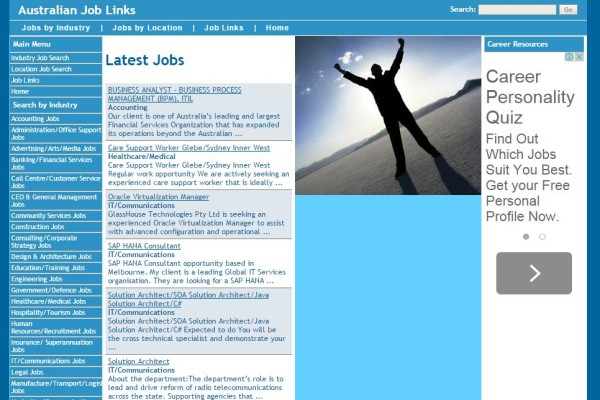 Joblinks.com.au Career Site